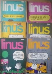 Linus - 1974 lotto 4 numeri 1(106)/ 2(107)/ 7(112)/ 11(116)