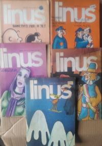 Linus - 1979 lotto 5 numeri 1(166)/ 2(167)/ 9(174)/ 11(176)/ 12(177)