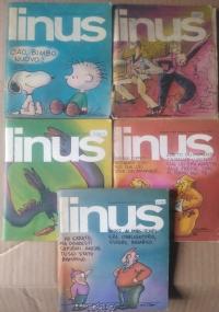 Linus 1980 - lotto 4 numeri - n. 4(181)/7(184)/10(187)/12(189)