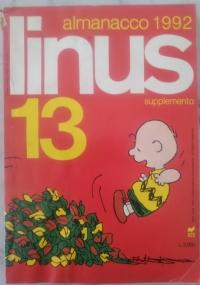 Linus - 1992 Annata completa - Anno XXVIII dal n. 1(322) gennaio al n.12(333) dicembre