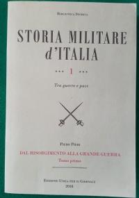 STORIA MILITARE D'ITALIA TOMO 1°