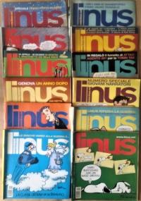 Linus - 2003 Annata completa - Anno XXXIX dal n. 1(455) gennaio al n.12(465) dicembre + supplemento al n. 12