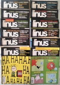 Linus - 2007 lotto 10 numeri - Anno XLIII 1(502)/ 2(503)/ 3(504) 4(505)/ 5(506)/ 6(507) 7(509)/ 10(511)/ 11(512)/ 12(513)