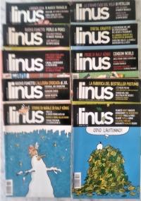 Linus - 2008 lotto 11 numeri - Anno XLIV 1(514)/ 2(515)/ 3(516) 4(517)/ 5(518)/ 6(519) 7(520)/ 8(521)/ 9(522)/ 10(523)/ 11(524)