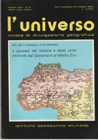 Storia naturale delle isole satelliti della Corsica. L'Universo n. 5 1986