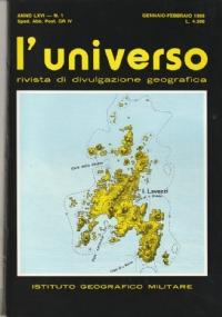 BALTISAN: geografia umana e ricerche geografico-fisiche. L'Universo n. 5 1987