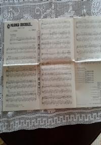 Edizioni Kramer 1956 - 12 spartiti