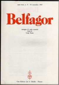 BELFAGOR. Rassegna di varia umanità - n. 269 - anno XLV, n. 5 - Settembre 1990 - [COME NUOVO]
