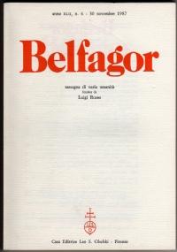 BELFAGOR. Rassegna di varia umanità - n. 255 - anno XLIII, n. 3 - Maggio 1988 - [COME NUOVO]