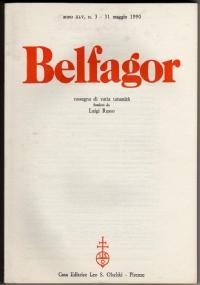 BELFAGOR. Rassegna di varia umanità - n. 253 - anno XLIII, n. 1 - Gennaio 1988 - [NUOVO]