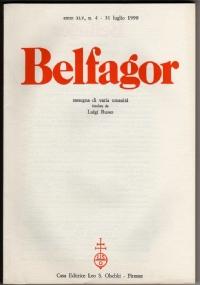 BELFAGOR. Rassegna di varia umanità - n. 267 - anno XLV, n. 3 - Maggio 1990 - [COME NUOVO]