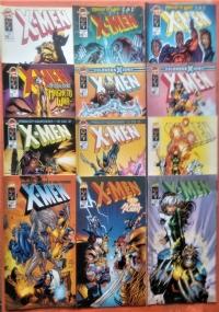 X-Men Deluxe Lotto 14 numeri - Anno 1998 n. 33/35/36/37/38/44; Anno 2000 n. 57/58/59/60/61/62/63/64