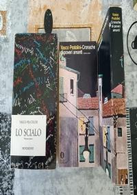 LOTTO 2 LIBRI | VASCO PRATOLINI: CRONACHE DI POVERI AMANTI VOL 1 E 2, (I ED.)CON COFANETTO LO SCIALO VOL. I