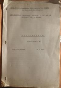 Calendarietto in Crociera 1935