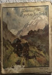 Calendarietto Monte Baldo da Pulciano Bertelli 1930