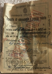 Lotto 20 tessere periodo fasciste