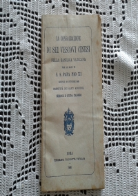 DISCORSI E PANEGIRICI (1931-1938)