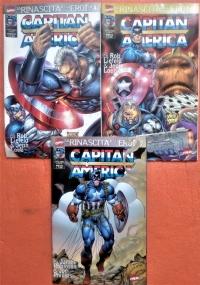 Capitan America & Thor - Annata completa - 1999 dal n. 50 al n. 61 Il Ritorno degli Eroi n. 4/15
