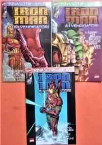 Iron Man & I Vendicatori - Annata completa 1999 dal n. 34 al n. 45 . Il ritorno degli Eroi 4/15