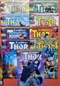 Thor - Lotto 8 numeri - Anno 2000 n. 10/11/12/13/14/15/16/17