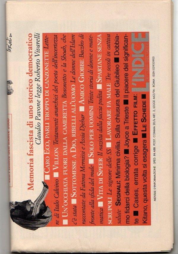 L'INDICE dei Libri del Mese - Anno XVIII - N. 1 - Gennaio 2001 - [NUOVO]