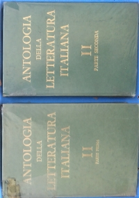 Antologia della letteratura italiana III Dall'Ottocento alla Prima Metà del Novecento - Parte Prima e Parte Seconda