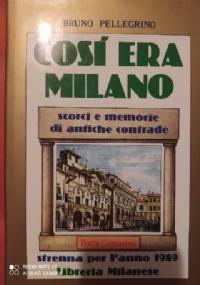 MILANO D'ALLORA  MEMORIE E VIGNETTE PRINCIPIO DI SECOLO 8 TAVOLE F.T.