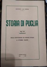 Storia di Puglia Saverio Lasorsa. Bari 1962. vol. 5 ++offerta flash ++ di difficile reperibilità