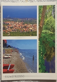 Cartolina Coste di Sicilia - Fiumefreddo di Sicilia