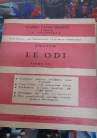 LE ODI LIBRO IV