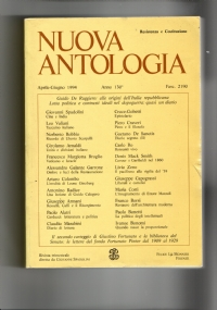 NUOVA ANTOLOGIA Aprile -Giugno 1991