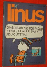 Linus  anno 10 N° 116  novembre 1974
