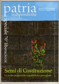 PATRIA INDIPENDENTE (mensile ANPI) Anno LIV, n. 9 - Ottobre 2005: ... E LA TERRA SI RIBELLA (+ inserto fotografico I CINESI) - [NUOVO]
