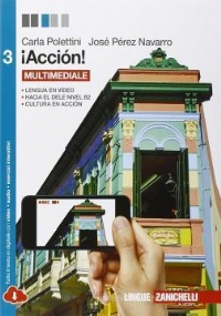 Acción 2 per le Scuole superiori! Con e-book. Con espansione online