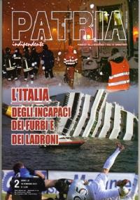 PATRIA INDIPENDENTE (mensile ANPI) Anno LX, n. 10/11 - Novembre/Dicembre 2011: Crisi, speculazione, risse tra governi, nazionalismi, egoismi: L'EURO TREMA + Quell'oro italiano regalato da Mussolini ad Hitler - [NUOVO]
