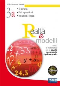 Realtà e modelli. Volume 3A-Materiali per il portfolio. Per la Scuola media