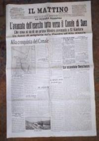 IL MATTINO 29/30 GENNAIO 1915 - CANALE DI SUEZ SCONTRO DI EL KANTARA  (PRIMA GUERRA MONDIALE)