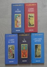 Lotto 5 libri L'Arte di Amare: Gli afrodisiaci, Il giardino profumato, L'alfabeto dell'amore, Il tantra, L'arte d'amare giapponese