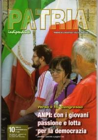 PATRIA INDIPENDENTE (mensile ANPI) Anno LVII, n. 3 - Marzo 2008: IO VOTO, TU VOTI, EGLI VOTA, NOI VOTIAMO... e L'INFAME ATTACCO DI PEARL HARBOR - [COME NUOVO]