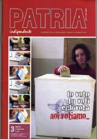 PATRIA INDIPENDENTE (mensile ANPI) Anno LVII, n. 8 - Settembre 2008: IL FASCISMO? DITTATURA, GUERRE, MASSACRI - IL MESSICO NELLE FOTO DI TINA MODOTTI
