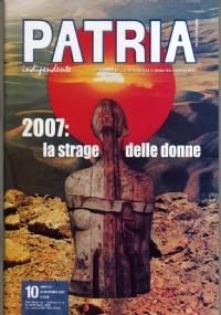 PATRIA INDIPENDENTE (mensile ANPI) Anno LVI, n. 3 - Marzo 2007: DONNA, DONNE e FOTOGRAFI A MESSINA PER IL TERREMOTO - [NUOVO]