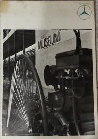 POSTER MUSEO MERCEDES-BENZ 130 X 83 CM