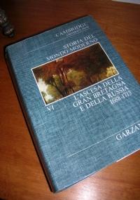 STORIA DEL MONDO MODERNO (Cambridge University). VOLUME IV. La decadenza della Spagna e la Guerra dei trent'Anni (1610-1648-59).