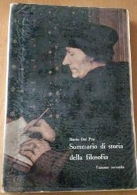 Sommario di storia della filosofia per i licei classici e scientifici, vol. III La filosofia contemporanea